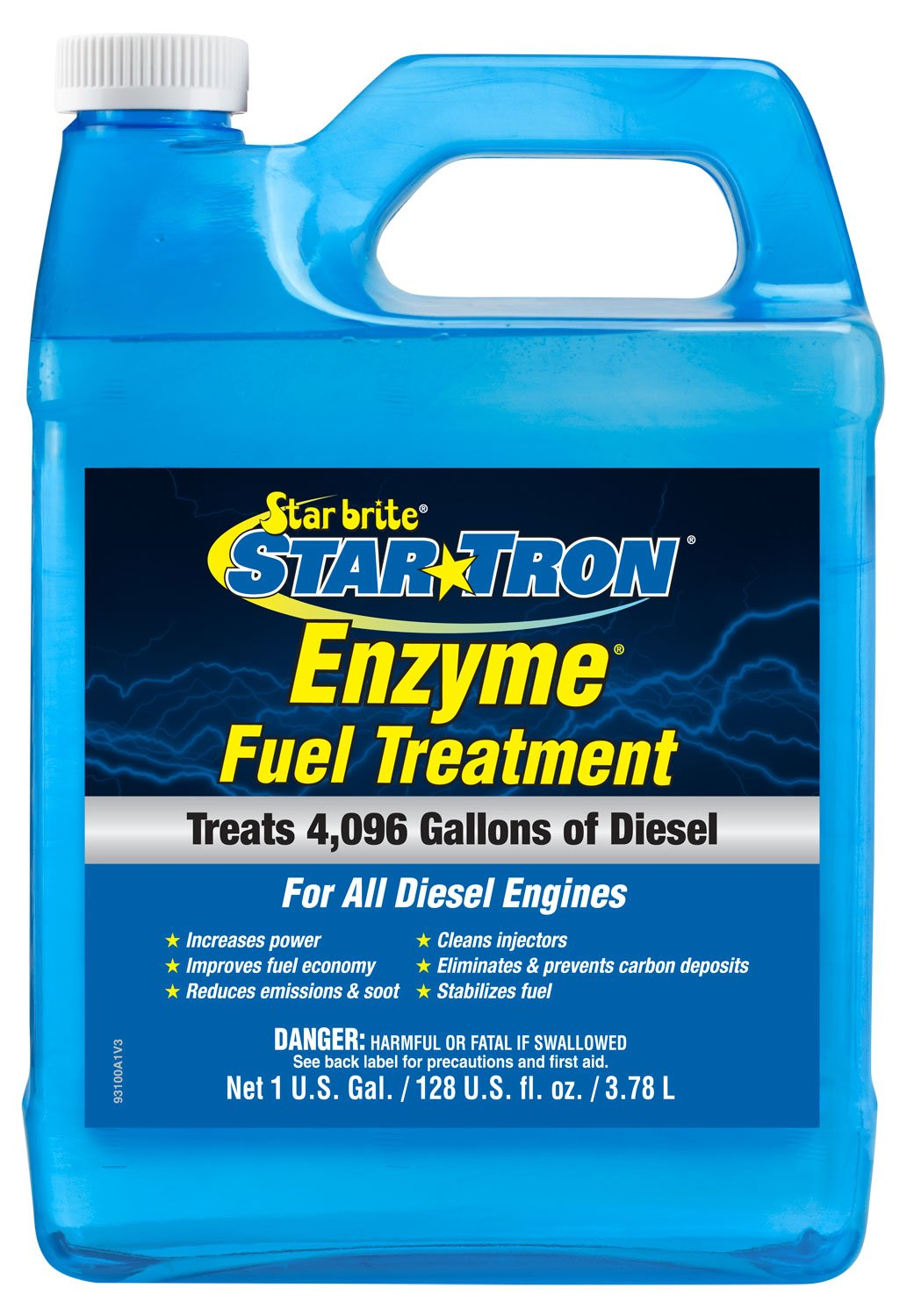 Star brite 093100N Concentrated Diesel Formula 931 Tron Enzyme Fuel Treatment, 1 Gallon by Star Brite