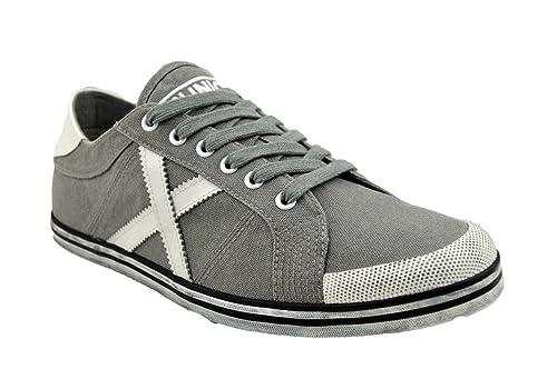 Zapatillas Munich JOC Low 17, Zapatillas Deportivas- Bambas, Plano de 0 a 2 cm, Gris, Piel-Textil, Redonda, Primavera/Verano: Amazon.es: Zapatos y ...