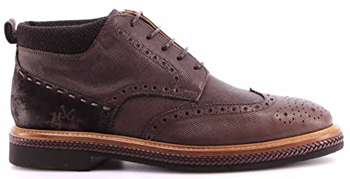 La Martina Scarpe Uomo Alla Caviglia L2026174 Lord Moka Ankle Boots Italy  Nuovo f4feeb06dcb