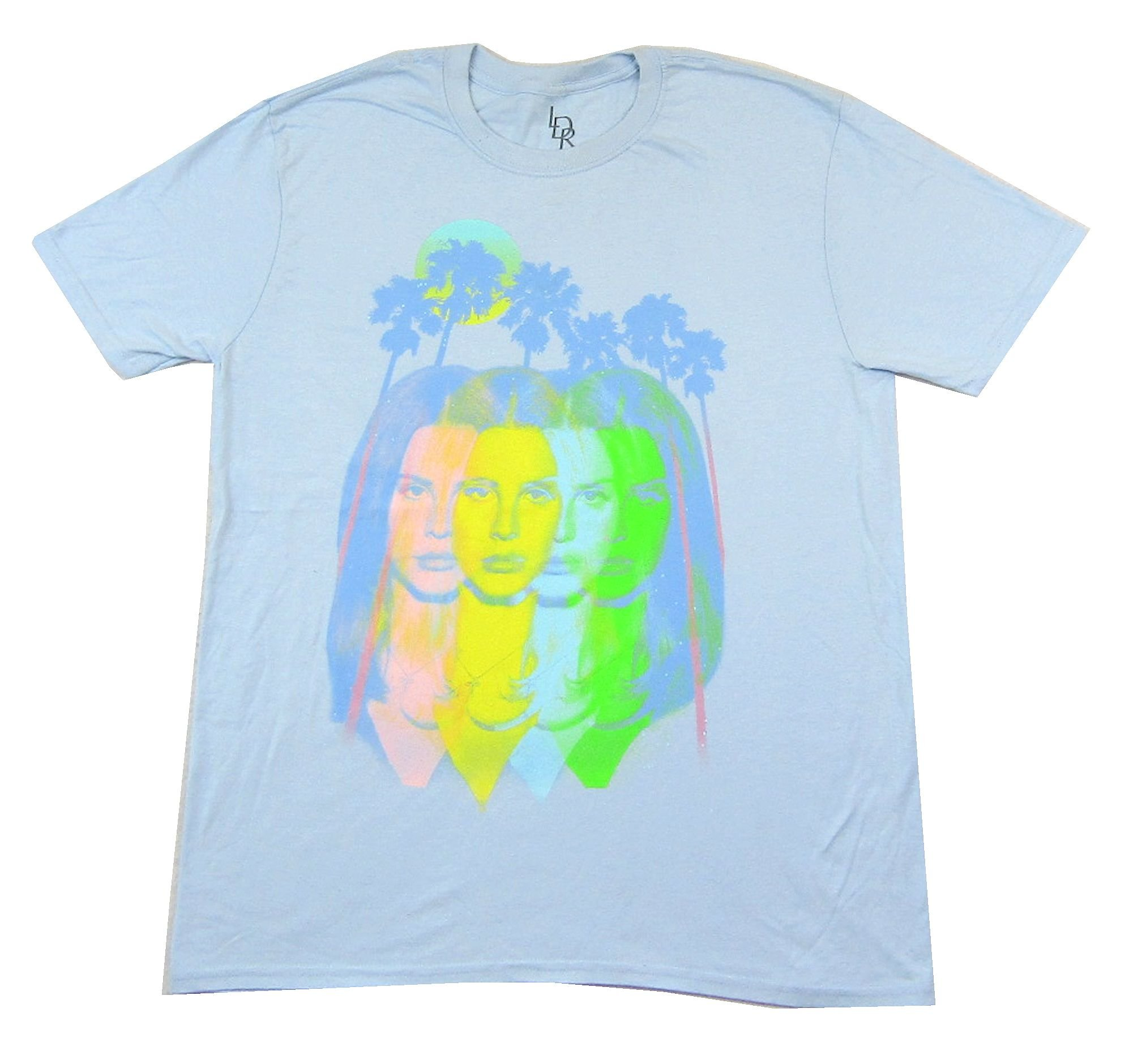 Lana Del Rey Endless Summer Tour 2015 Blue T Shirt (L)
