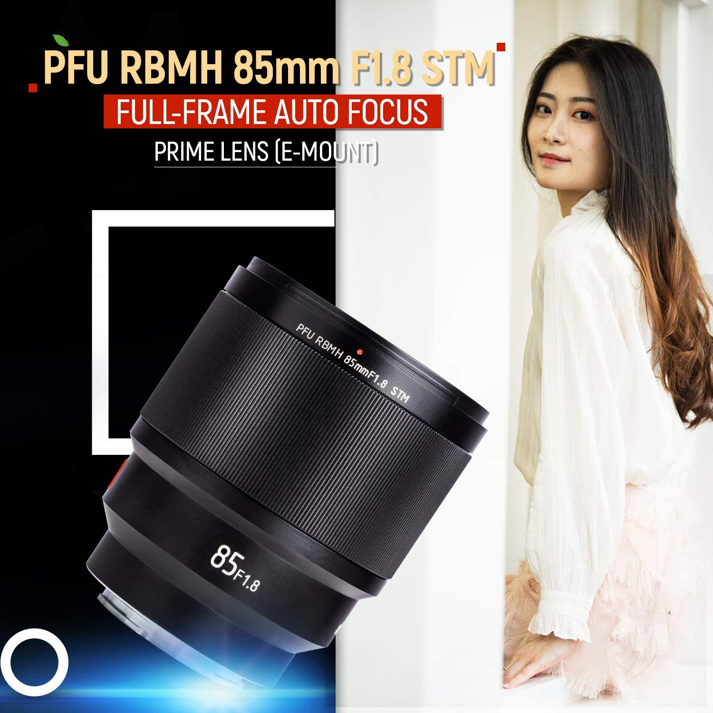 VILTROX PFU RBMH 85mm F1.8 Objetivo Retrato AF Lente para Sony E-mount a7 a7II a7III a7R a7RII a7RIII a7SII a9 a6400 a6500 a6300 a5100 a6000