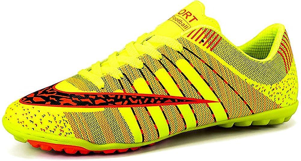 Green JiYe Pro-Sports Women's Men's Jogging Walking Riding Running shoes Racquet,Fashion Sneskers,Soccer shoes