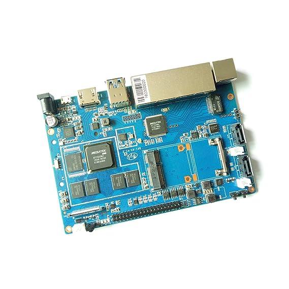 Banana Pi BPI R2 Smart Home alambre 2 G LPDDR3 + 8gbemmc Junta de ...