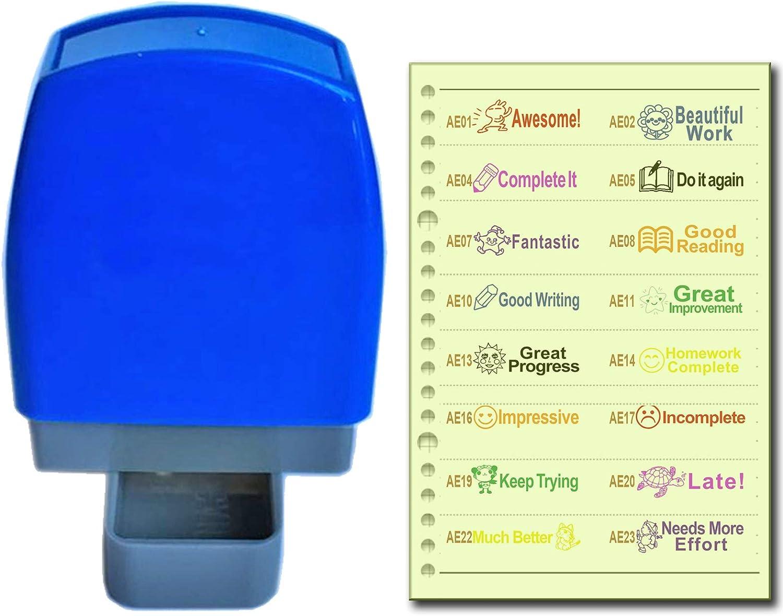 Hummingmint Deer 4 in 1 Self-inking Reward Stamp Teacher Homework Review Stamper