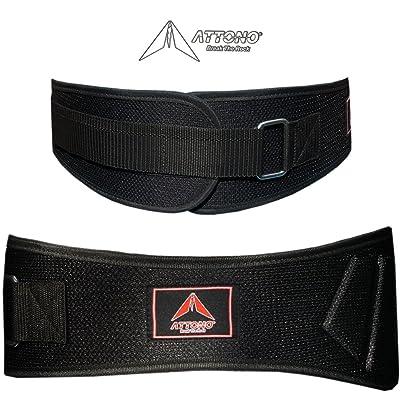 Ceinture lombaire d'haltérophilie/musculation/fitness attono ® trainigsgürtel ceinture taille s à xXL