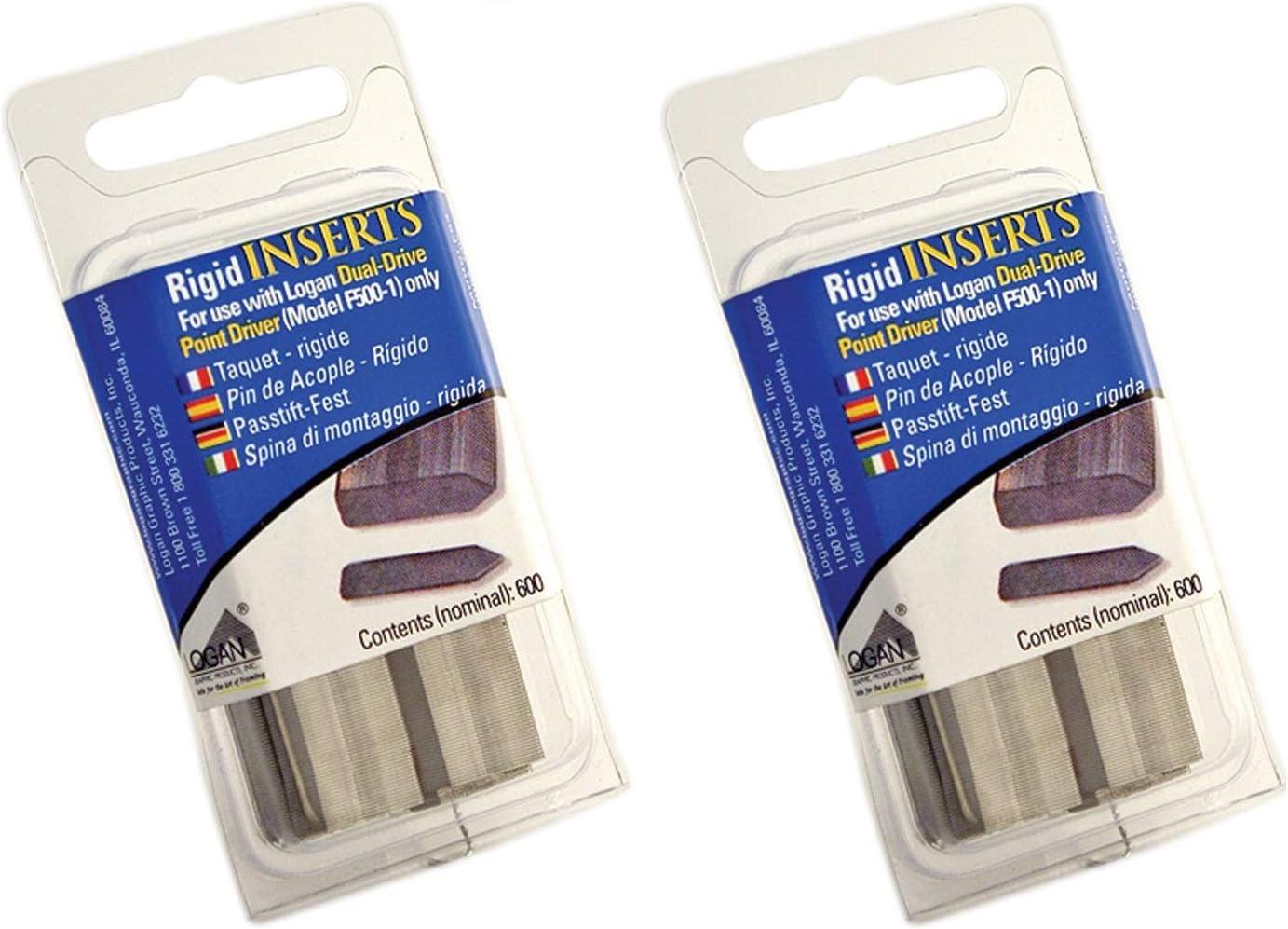 Logan Dual Drive Elite Flexipoint Refill 600-Pack