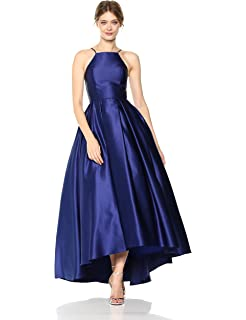 7b9dfb00d2e Betsy   Adam Women s Halter Ballgown Dress at Amazon Women s ...