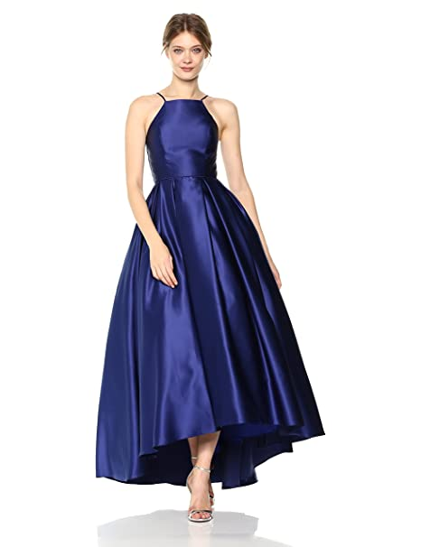 Betsy & Adam Women s Long Hi Lo Ballgown at Amazon Women s Clothing