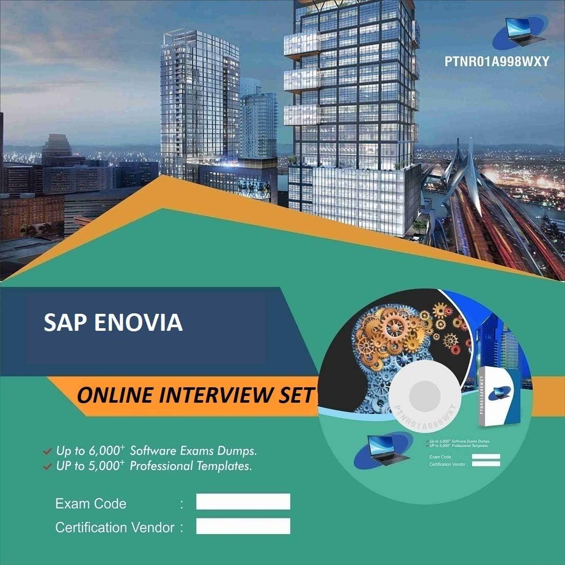 SAP ENOVIA Complete Unique Collection Interview Video Training Solution Set (DVD)