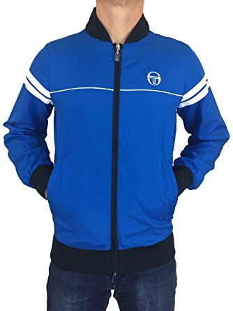 44230a468ae72 Sergio Tacchini Mens Fergio Orion 37591020 Jacket in Navy Blue ...