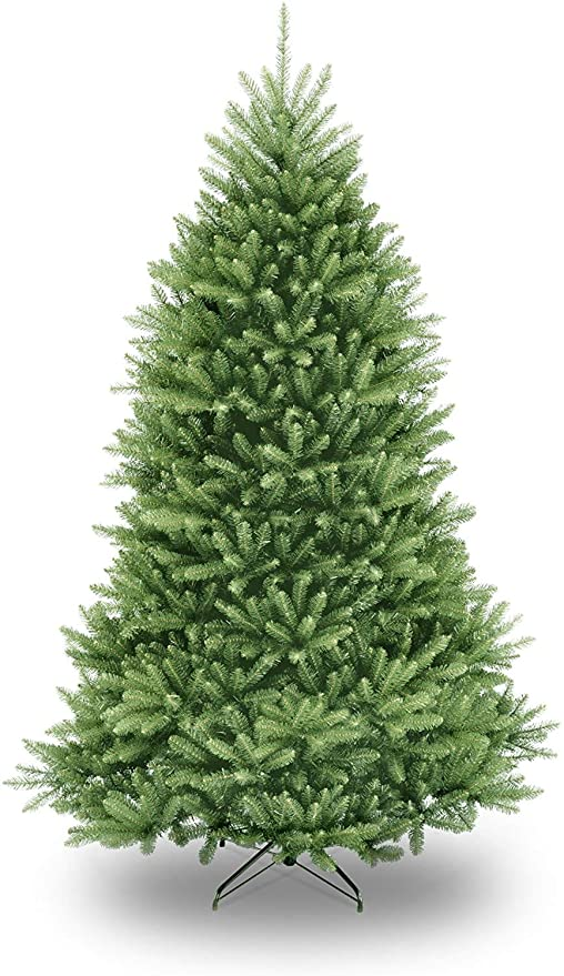 Amazon Com National Tree Company Artificial Christmas Tree Includes Stand Dunhill Fir 7 5 Ft Home Kitchen
