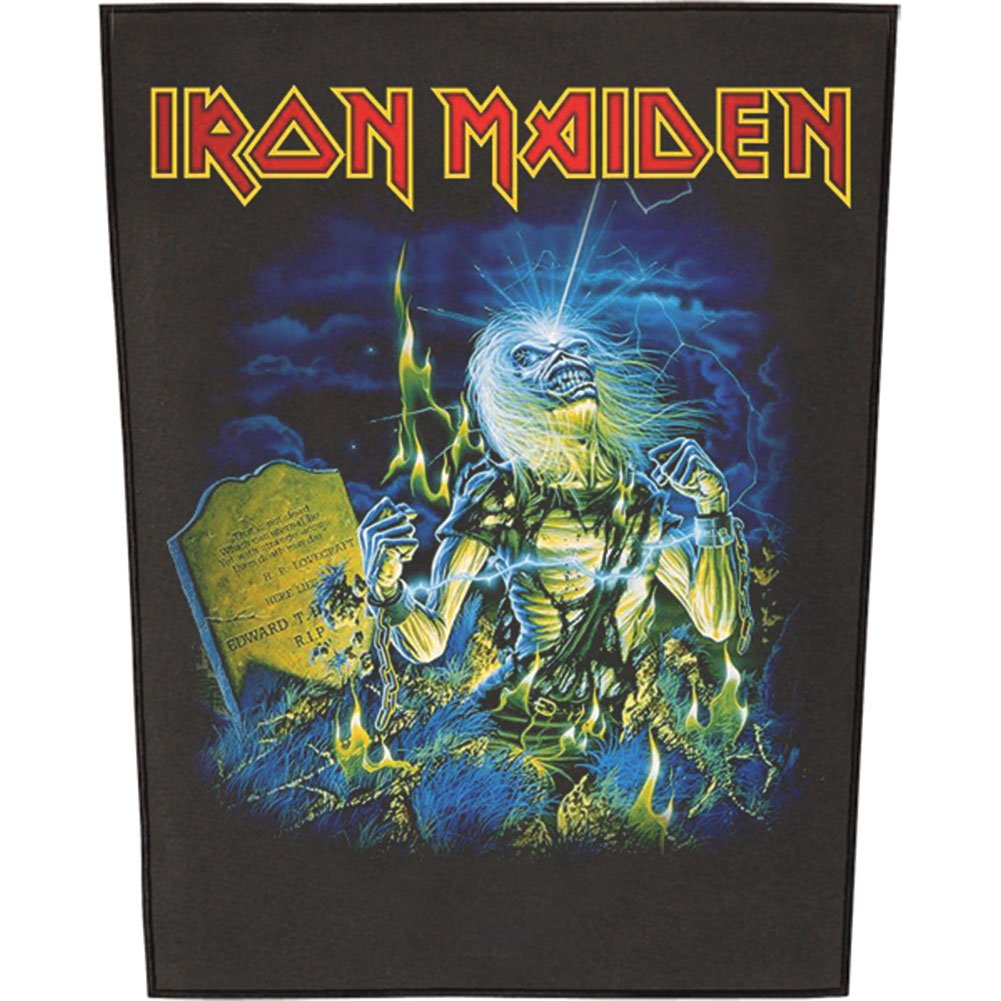 XLG Iron Maiden Live After Death Back Patch Album Art Fan Jacket Sew On Applique RAZAMATAZ