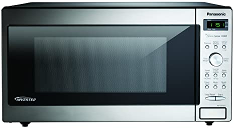 Panasonic NN-SD762S 45L 1250W Acero inoxidable - Microondas (45 L, 1250 W
