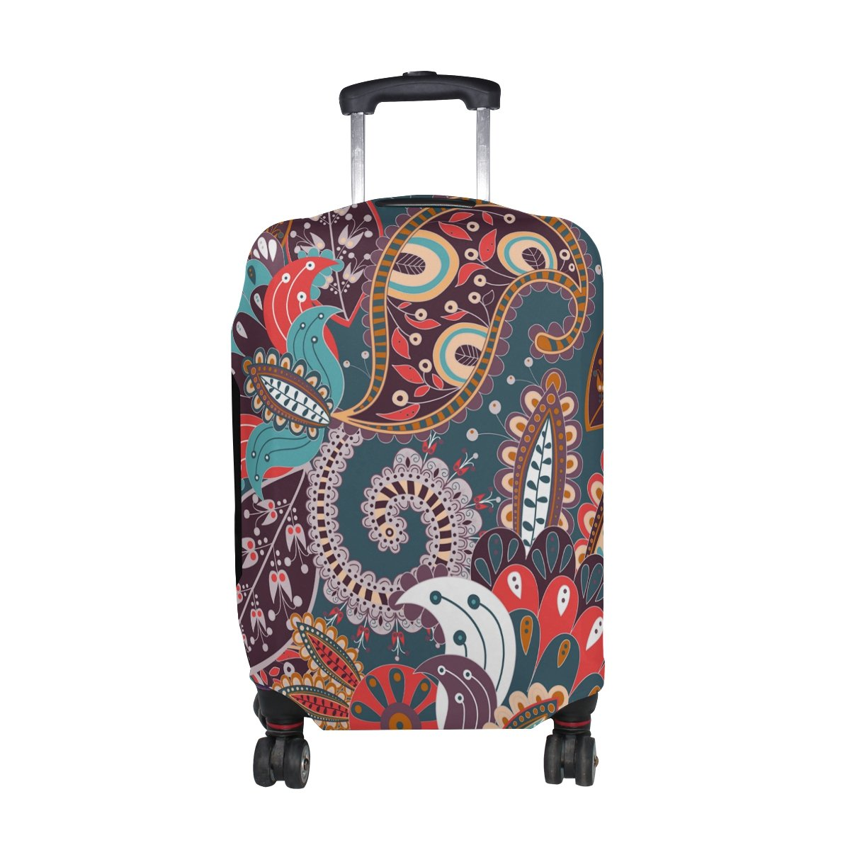 Bohemian Hippie Print Travel Luggage Protector Baggage Suitcase Cover Fits 29-32 Inch Luggage by CoolPrintAll (Image #1)