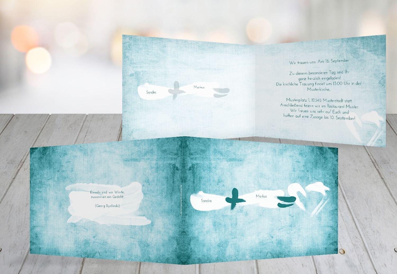 Kartenparadies Hochzeitskarte Hochzeit Einladung Einladung Einladung Du  Ich  Liebe, hochwertige Einladung zur Heirat inklusive Umschläge   10 Karten - (Format  148x105 mm) Farbe  DunkelGelb B01MYAFBLN | Moderne Muster  | Deutschland Store  | Einfach zu spielen, freie cafa3f