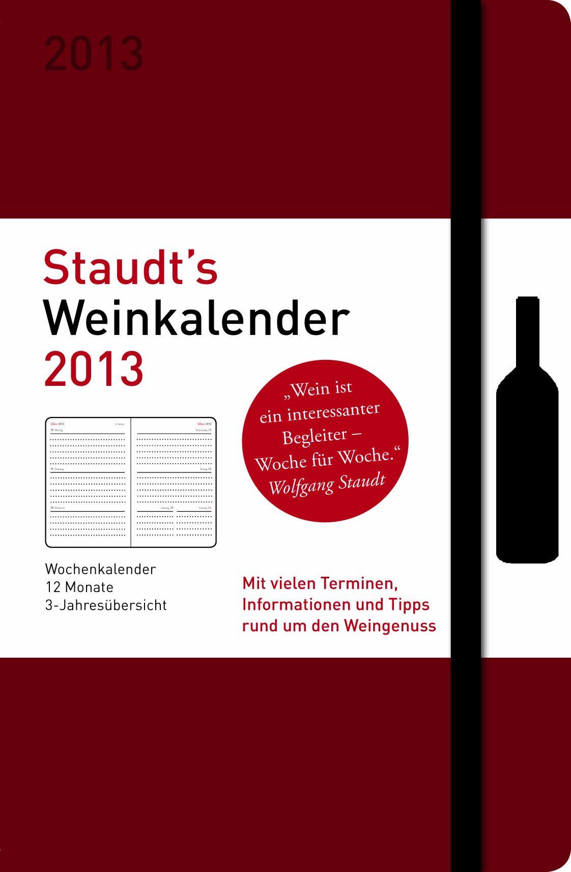 Staudt's Weinkalender 2013