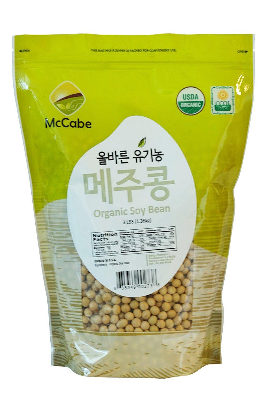 McCabe Organic Soy Bean, 3-Pound