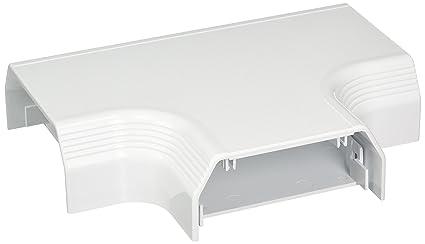Panduit T70TWH Embellecedor de cables horizontal en T - Accesorio (Embellecedor de cables horizontal en