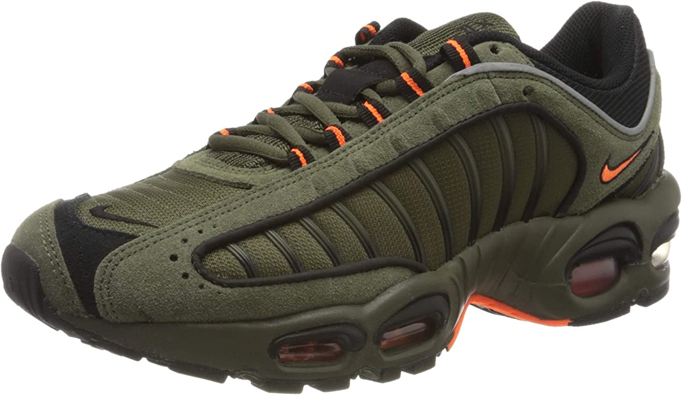 Nike Air MAX Tailwind IV SE, Zapatillas para Correr para Hombre, Cargo Khaki Total Orange Black, 42.5 EU: Amazon.es: Zapatos y complementos