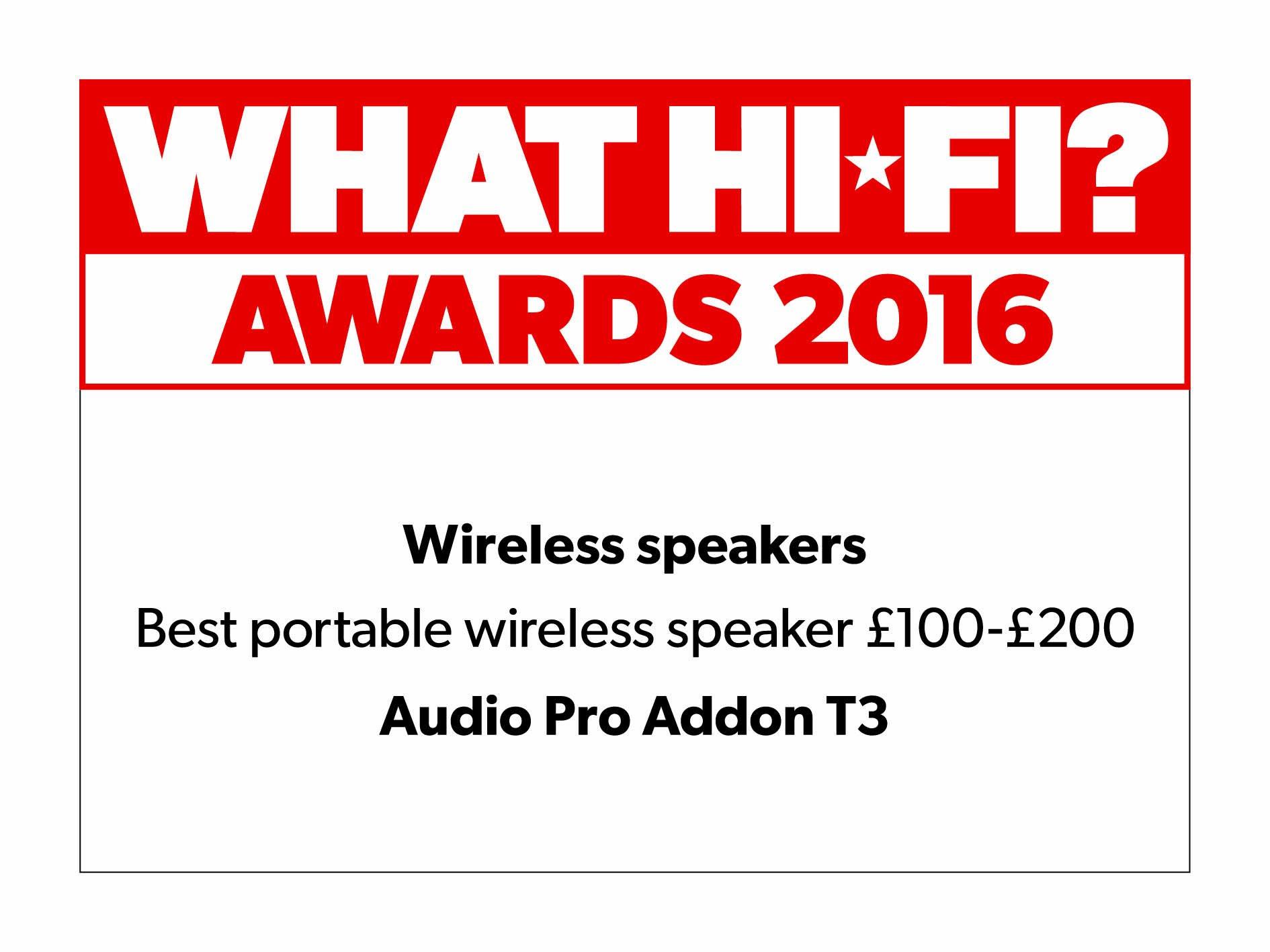 AUDIO PRO Addon T3 Portable Bluetooth Speaker - GREEN
