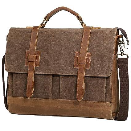 5c34eccdfb77 Amazon.com  Large Messenger Bag for Men Tocode