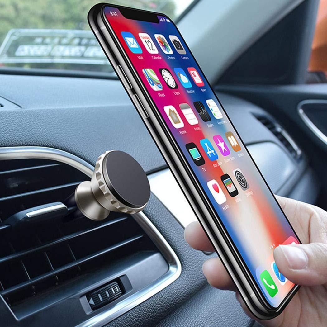 Xixini Tenedor magnético del teléfono móvil de la Ventosa de la adsorción de la Salida de Aire del Coche