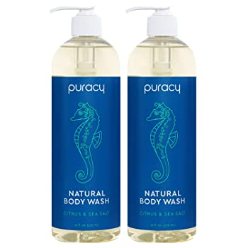 Puracy Citrus & Sea Salt Body Wash