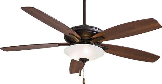 "Minka Aire F522 ORB TS Mojo 52"" Ceiling Fan with Light Oil"