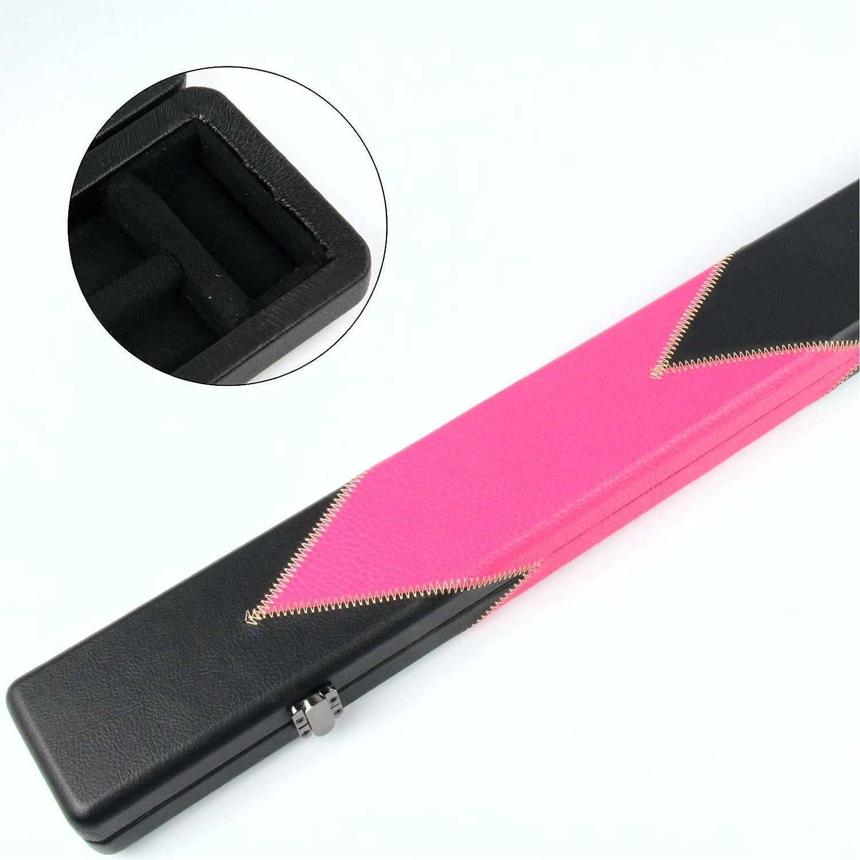 Funky Chalk Professional Pink Arrow Pool Snooker Cue Case Estuche Profesional Flecha Rosa 3/4 para Taco de Billar, Unisex Adulto: Amazon.es: Deportes y aire libre