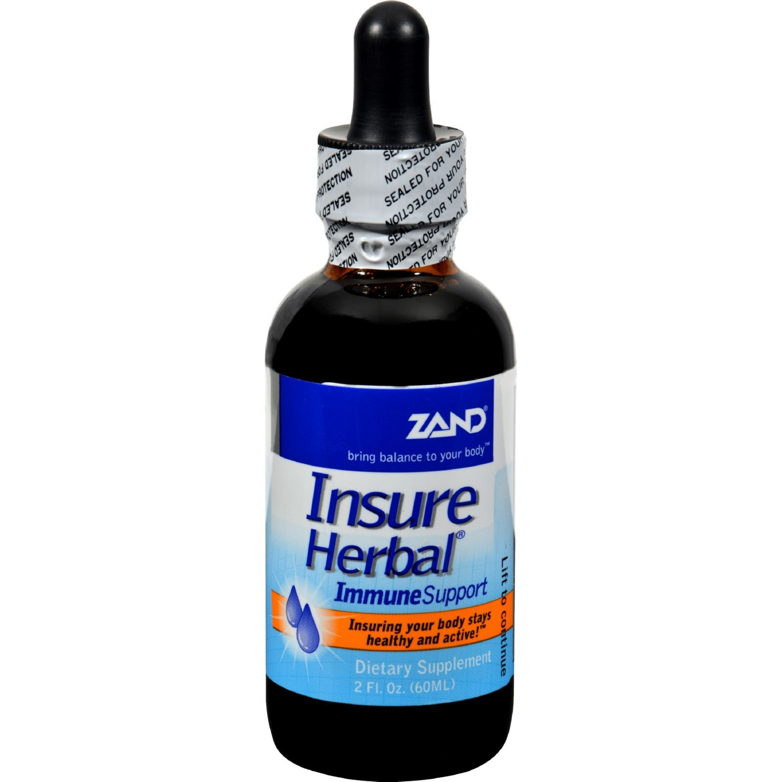 Zand Insure Immune Support - Echinacea and Goldenseal Formula - 2 fl oz (Pack of 2)