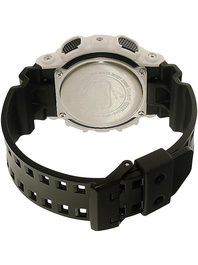 e7cd0aeafe32 Casio Men s G-Shock GAX100B-7A Black Rubber Quartz Sport Watch  Casio   Amazon.es  Relojes
