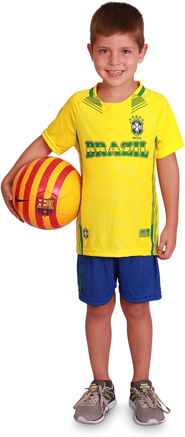 Top 8 Brazil Kids Home World Cup Mini Kit