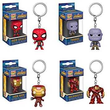 Funko Pocket Pop! Llavero de Marvel Comic Avengers Infinity ...