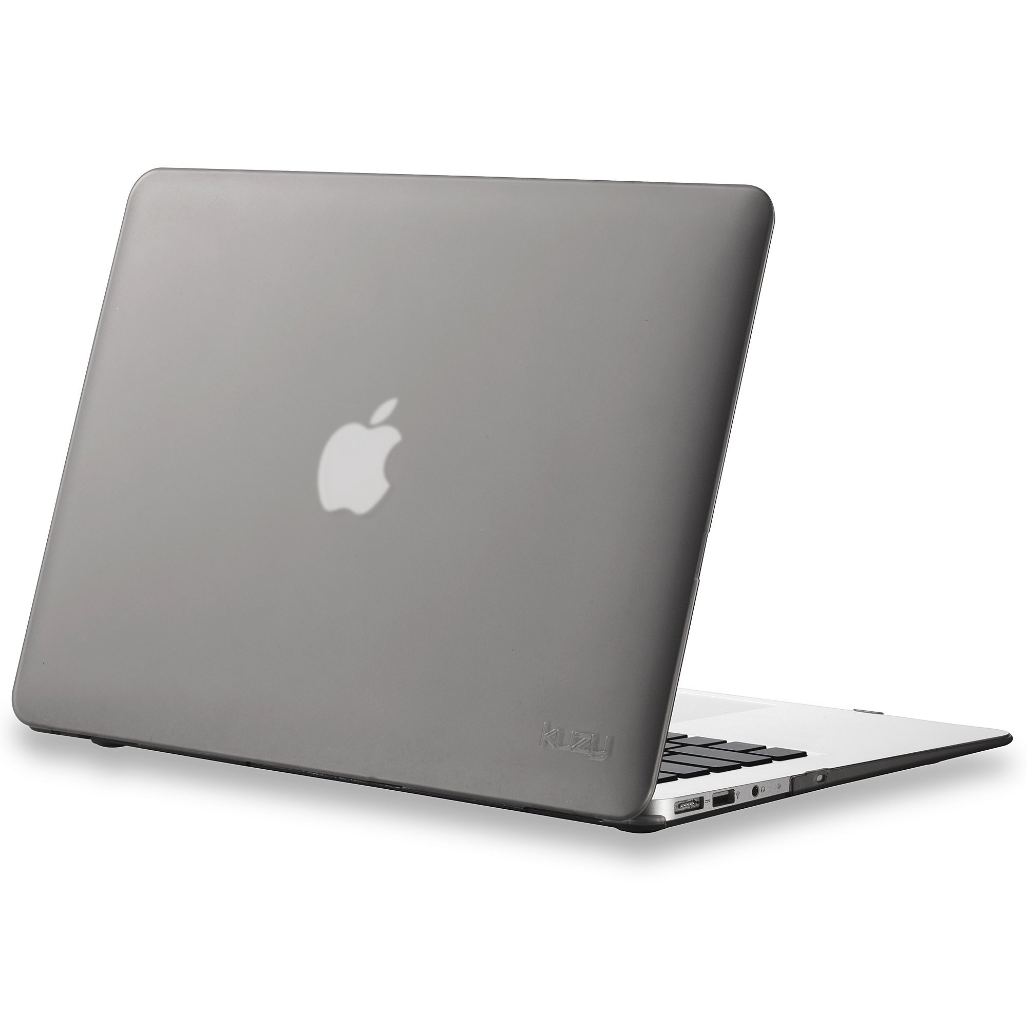 Kuzy AIR 13-inch GRAY Rubberized Hard Case for MacBook Air 13.3'' (A1466 & A1369) (NEWEST VERSION) Shell Cover - Gray