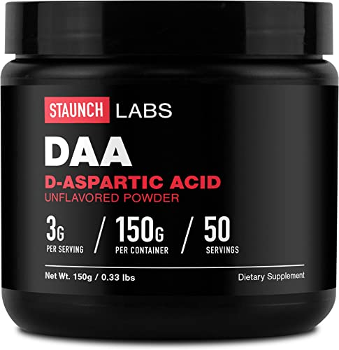 Staunch D-Aspartic Acid Powder 150 Gram