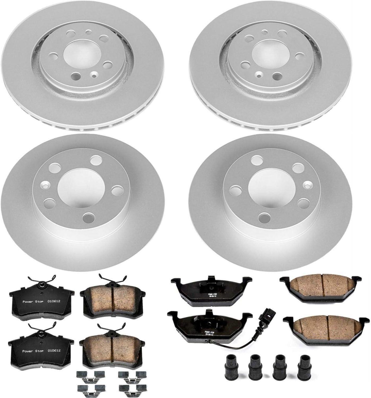 Power Stop CRK4094 front and rear Z23 Evolution Geomet Coated Brake Kit
