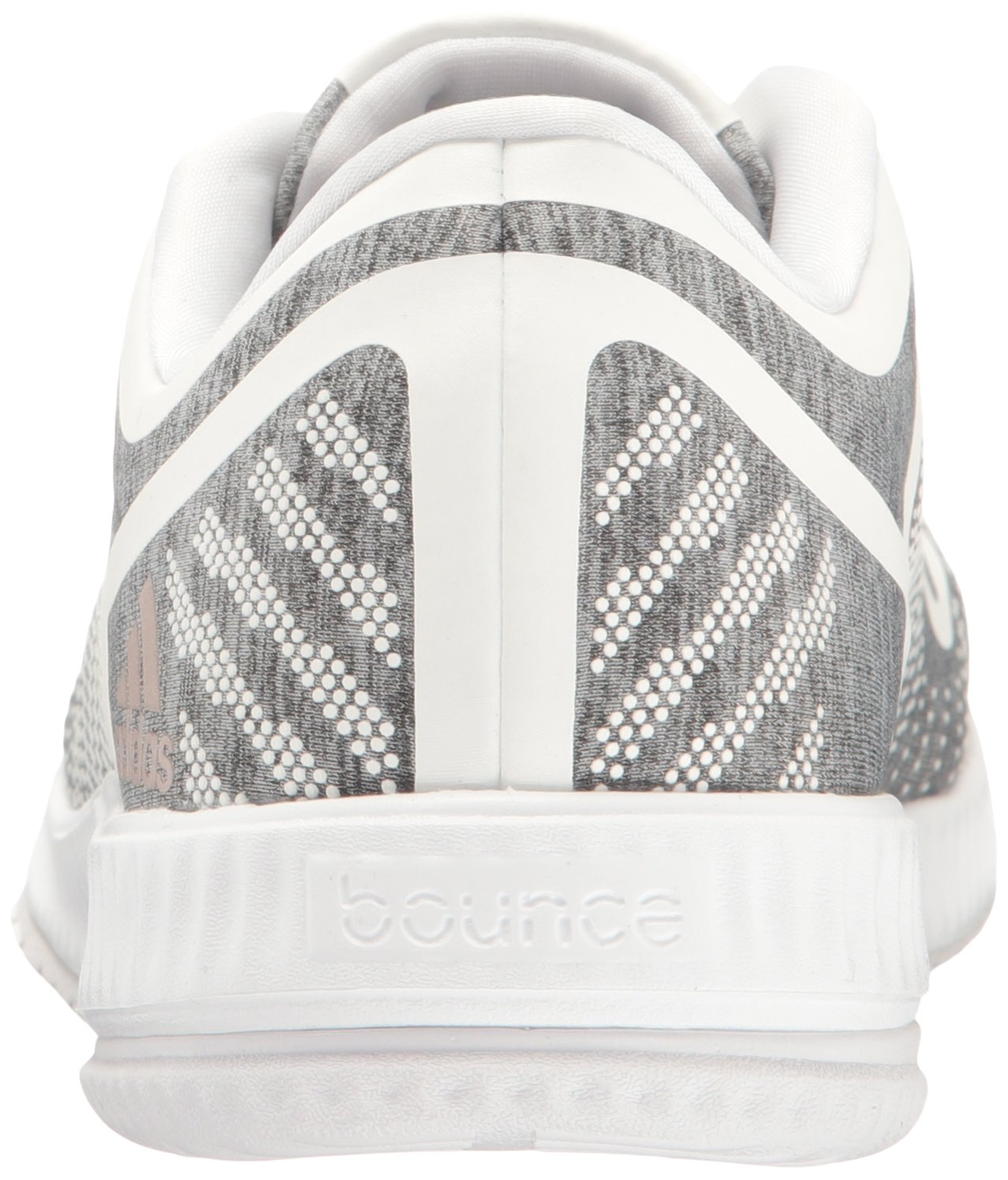 new concept bf553 459a3 Zapatillas Adidas Performance para mujer Athletics Bounce W Cross-Trainer  Gris claro Heather  Vapor Gris  Blanco
