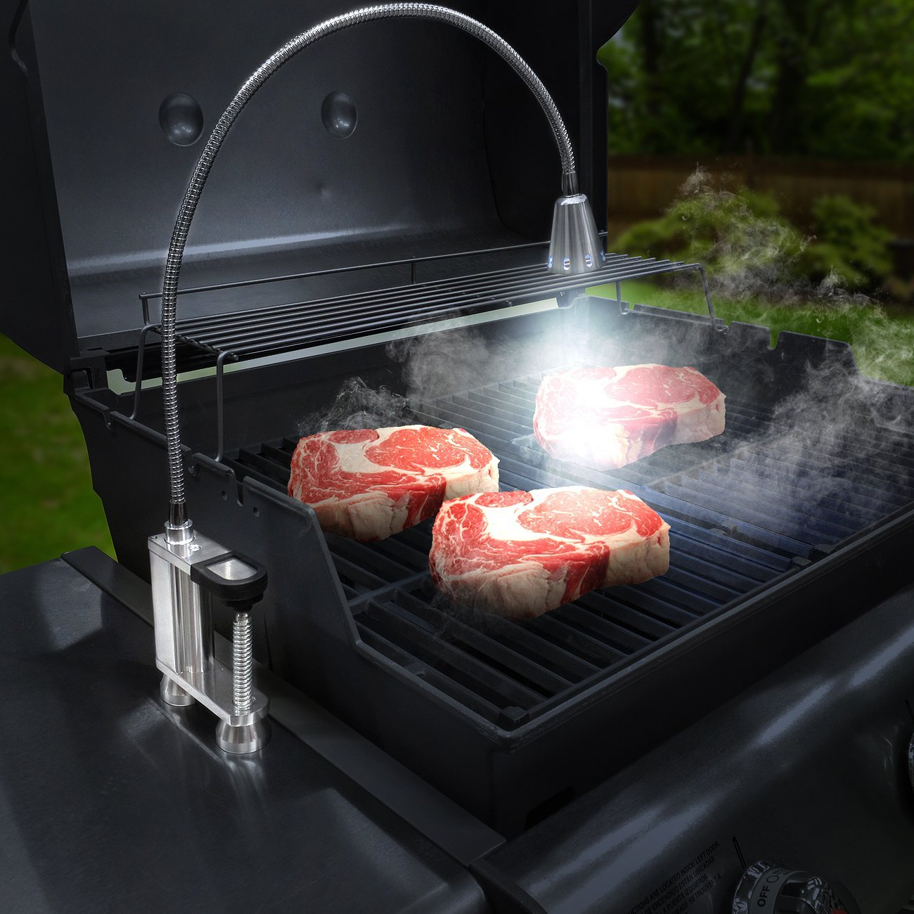 amazoncom led concepts bbq grill light 12 super bright led garden u0026 outdoor