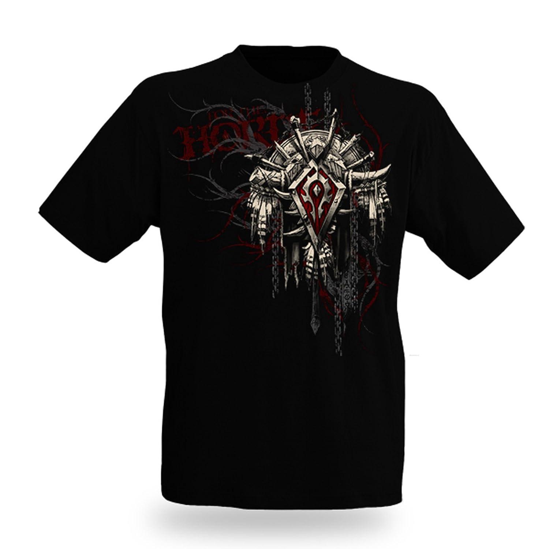 World of Warcraft - Stemma dell'orda - World of Warcraft - Orda - Crest 2 - T shirt- nero - XXL