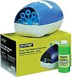 Machine à bulles Cheetah bleue à piles