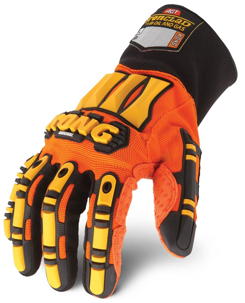 Ironclad KONG SDX2-05-XL Original Oil & Gas Safety Impact Gloves, X-Large
