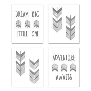 Amazon.com: Sweet JoJo Designs - Juego de 4 figuras ...