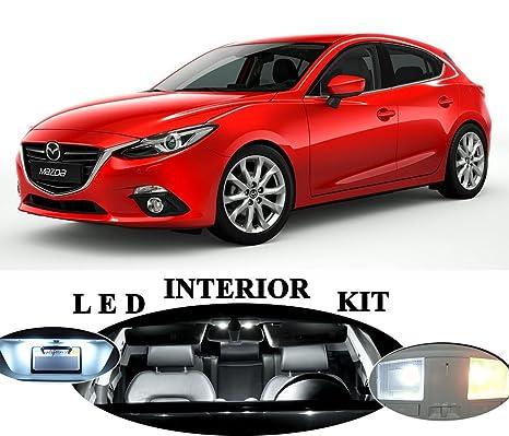 Luces LED para Mazda 3 Xenon Blanco Led paquete actualización – interior + + tocador de