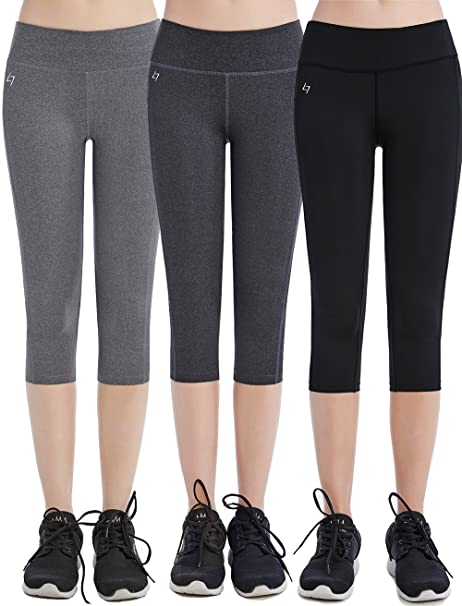 FITTIN Womens Workout Leggings Capris With Pocket b283b3f1d624