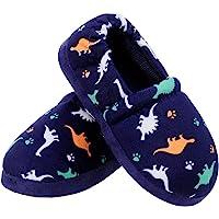 Zapatillas de casa de Peluche cálida para niños Animales Antideslizante Interior Casa Pantuflas
