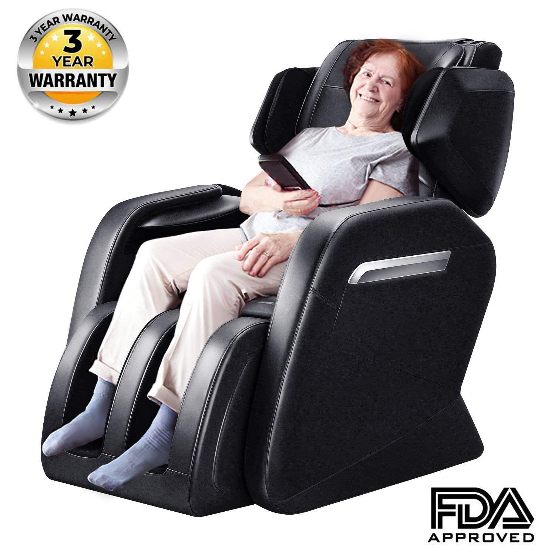 Cool Ootori Full Body Massage Chair Zero Gravity Neck Back Legs And Foot Shiatsu Massage Black Machost Co Dining Chair Design Ideas Machostcouk
