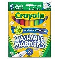 Crayola Washable Markers, Broad Line