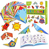 hapray Color Origami Paper for Kids, Origami Kit, 118 Sheets 6 Inch Double Sided Origami with 54 Projects, 55 Pages…