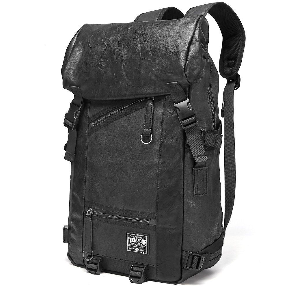 Laptop Backpack Anti Theft Flip-Open Cover Large Capacity for Travel Sports Hiking Bag Black for Men Women