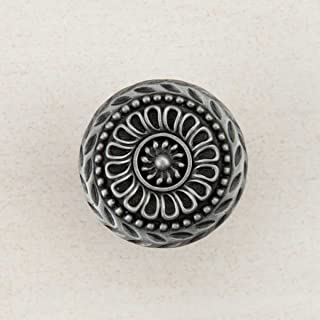 product image for Acorn Manufacturing DQFPP Artisan Collection Lace Circle Knob44; Antique Pewter